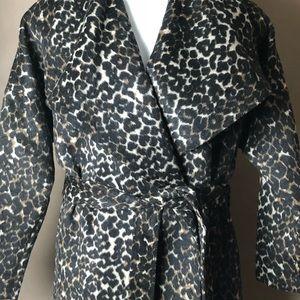 48270198b5a6 Lord & Taylor Jackets & Coats - NWT Lord & Taylor Leopard Print Coat Plus  Size